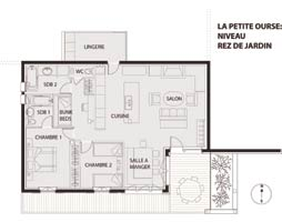 Plan Petite Ourse Serre Chevalier